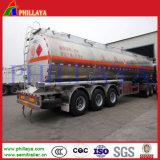 45000 Liter drei Wellen-Kraftstofftank-Schlussteil-