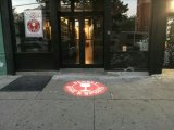 LED-Stern-Projektions-drehende Firmenzeichengobo-Licht-Dekoration im Freien