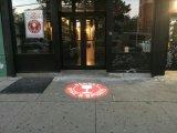 LED Star Projection Rotating Logo Gobo Light Décoration extérieure