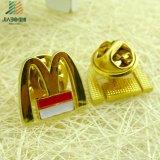 Известный затавренный Pin отворотом мака металла m