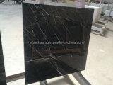 Tuiles noires en pierre normales de Marblle Marquina