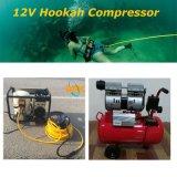 Sistema Hookah com a mangueira de respiração, Filtro Regulador, barco flutuante