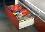 Armadi da cucina rossi del MDF della lacca di lucentezza di stile dell'Australia alti