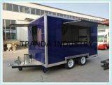 Towbarの台所トレーラーが付いている移動式通りの販売のトレーラー中国製