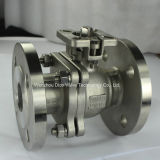 Api CF8/CF8m 2PC Flange Ball Valve con Plate Form