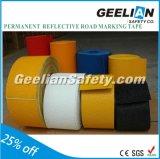 Белая или желтая лента выстилки маркировки барьера полимера цвета