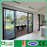 Preço da porta deslizante de alumínio com vidro dobro