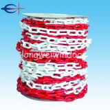 赤くおよび白いプラスチック鎖