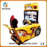 El juego de arcade simulador de conducción de coche de carreras para el Centro de Juego