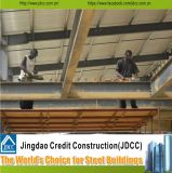 Q235 Q345 강철 급료 및 강철에 의하여 날조되는 집 응용 넓은 경간 빛 강철 구조물 창고