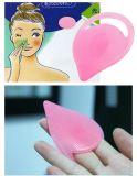 Nouveau Blackhead Démaquillant masseur Brosse de nettoyage de silicium des plaquettes de nez faciale