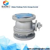 Valvola a sfera a temperatura elevata di galleggiamento della sede del metallo