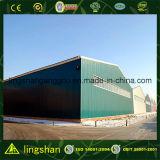 プレハブの大きいスパンの鉄骨構造の倉庫(LS-SS-553)
