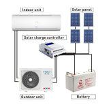 48V 100% puro da parede do inversor DC Solar tipo split Condicionador de Ar
