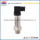 Transmissor de pressão sanitário de Connetor 4-20mA do plugue da classe