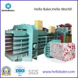 8 t / H horizontal hidráulico de residuos de papel máquina de la prensa