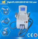 Большая мощная машина лазера ND YAG Elight RF IPL многофункциональная