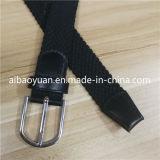 Elástico negro de alta calidad cinturón trenzado