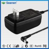 Kundenspezifischer schwarzer 18W Spannungs-Adapter Wechselstrom-18V 1A GS