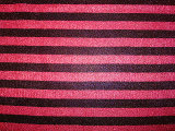 Rosca brilhante Rose pontos vermelhos Bobby tecido tricotado