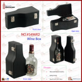 びんShaped Single Bottle Wine Box (5496R2)