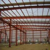 Construção Rápida de Construção de Aço Prefab Assentada para Oficina