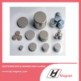 N52 Schijf Gesinterde Magneet NdFeB die door Fabriek Overgegaane ISO14001 wordt vervaardigd