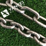 Encadenamiento de conexión largo inoxidable del acero DIN763
