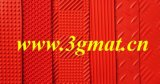 Tapete de PVC transparente com antifatigia 3G (3G-TS BJW)