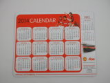 Customized резиновые Коврик для мыши Printed 2017 Календарь