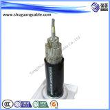 Низкий дым/низко обшитое Halogen/Al общее Screened/PVC Insulated/PVC/кабель компьютера