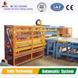 Tecnología alemana la maquina para fabricar ladrillos de arcilla automático
