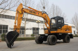 Excavador de la rueda del excavador 135 de la rueda 13 toneladas
