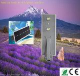 1개의 해결책 통합 태양 70W LED 가로등에서 태양 강화된 옥외 가벼운 센서 전부