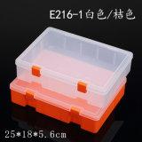 Quadratischer Plastikkasten
