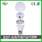 No hay ningún controlador SMD2835 AC200-240V 9W Bombilla LED
