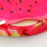 La figura della frutta ha farcito l'ammortizzatore stampato molle dell'OEM del coperchio della peluche della gomma piuma