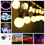 5m 20LEDs 40mm LEDのクリスマスの休日の大きい球ストリングライト