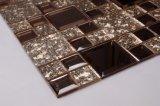 Dekoratives kleines quadratisches Kunst-Glaswand-Dekor-Mosaik-abgeschrägter Spiegel