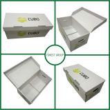 Prezzo poco costoso del contenitore ondulato di cartone della scatola di cartone dell'archivio cartaceo
