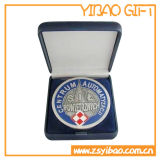 Boîte-cadeau en plastique de ramassage pour la médaille de pièce de monnaie d'emballage