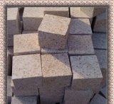 Natural Split Flamed/Saw Cut/Bush Hammered G682/Misty Yellow Granite Cubes/Kerb/Paving/Cobble Stone