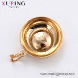 32365 Xuping 형식 Gold-Plated를 가진 호화스러운 타원형 수정같은 지르콘 보석 목걸이 펜던트