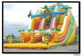 O castelo de salto trampolim ar combinado trampolim trampolim inflável para crianças.