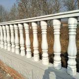 熱い販売別荘の家の飾ることを使用するための白い大理石階段Balusterの石か花こう岩の柵の手すり