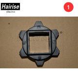 Cinghia modulare di sostegno materiale della ruota dentata di Hairise 400 Nylon/POM