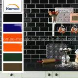 Los diseños de la casa de revestimiento exterior de la pared de azulejos de cerámica blanca del metro
