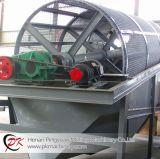 La Cina che fa pubblicità al vaglio oscillante comunale della macchina d'estrazione del crivello a tamburo del setaccio del timpano