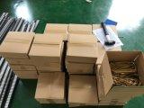 Hoogste Ketting van het Latje van de Transportband van Hairise de Plastic met Bruine Kleur