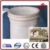 Filtre en feutre de polyester industriel aiguilletés sac pour le collecteur de poussière